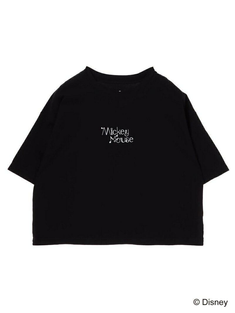 E hyphen world gallery Gold Label Mickey Mouse Tシャツ(H) イーハイフンワールドギャラリー カットソー