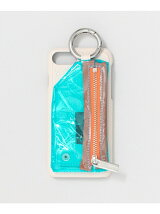 ajew PVCcadena zip phone case
