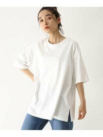 【SALE/70%OFF】OZOC [洗える]GIZA COTTONビッグTシャツ オゾック カットソー Tシャツ ホワイト グレー ブラック ベージュ