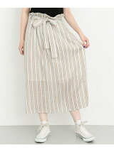 KBF+ ストライプボリュームスカート