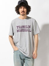 FRANKLIN&MARSHALL/(M)ロゴTシャツ