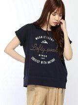 刺繍プリントTシャツ