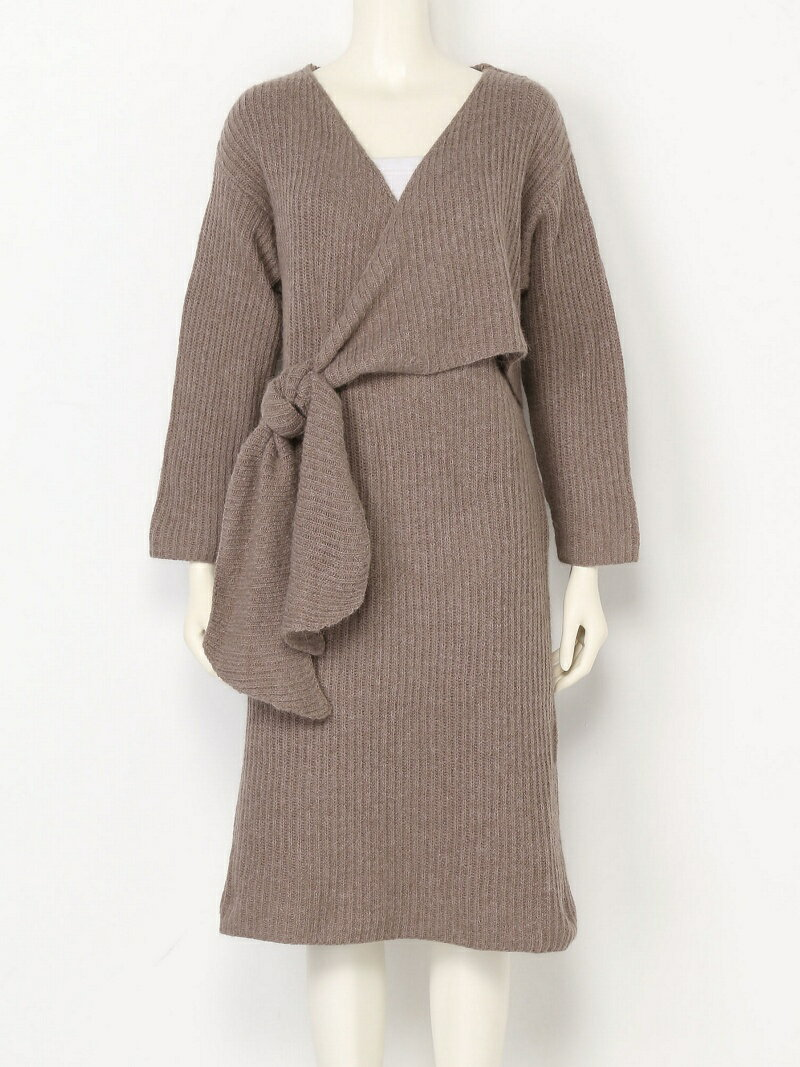 【SALE/20%OFF】TODAYFUL Cache-coeur Knit Dress トゥデイフル ワンピース【RBA_S】【RBA_E】【送料無料】