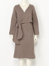 Cache-coeur Knit Dress