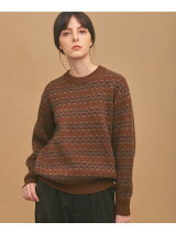 UNIFY Jacquard Knit Pullover