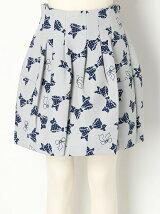 【dazzlin】リボンボンディングスカート