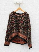 Jacquard Flower Knit