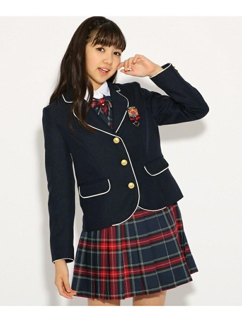 PINK-latte 【卒服】パイピング ジャケット ピンク ラテ コート/ジャケット【送料無料】