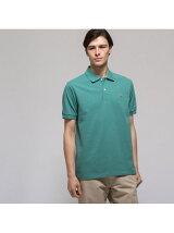 (M)ラコステ L.12.64 ポロシャツ (杢・半袖)
