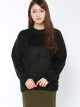 DEEP NIGHT MOHAIR TOP