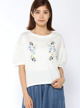 ボリューム袖Tシャツ