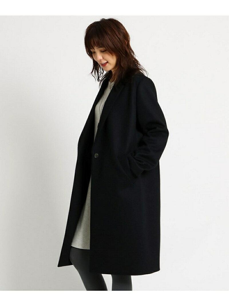 INDIVI 【Lサイズ限定】チェスターコート インディヴィ コート/ジャケット【送料無料】