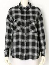 2WAYチェックシャツ