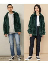 【Champion 別注】Sherpa Fleece Boa Coach Jacket