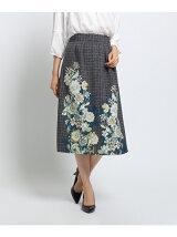 ブリティッシュフラワースカート