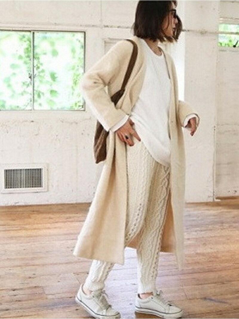 【SALE/45%OFF】TODAYFUL Sliver Knit Coat トゥデイフル ニット【RBA_S】【RBA_E】【送料無料】