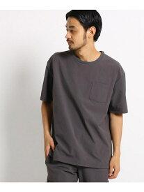 【SALE/50%OFF】OPAQUE.CLIP ◆4wayクロスポケットTシャツ オペークドットクリップ カットソー Tシャツ グレー ベージュ ネイビー