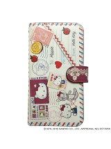 Hello Kitty×CRYSTAL BALL『Otegami』/アニュエール/手帳型スマホケース