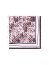 オリジナルスカーフ 幾何柄