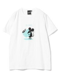 BEAMS T 【SPECIAL PRICE】BEAMS T / Shadow Graphic So Good Tee ビームスT カットソー Tシャツ ホワイト