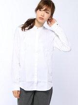 (W)バックプリーツシャツ