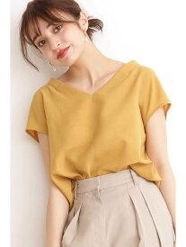 【SALE/10%OFF】N. Natural Beauty Basic ドライポプリンシャツ エヌ ナチュラルビューティーベーシック* シャツ/ブラウス シャツ/ブラウスその他 イエロー グレー ブラウン ピンク【送料無料】
