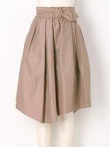 タイプライターミモレ丈スカート