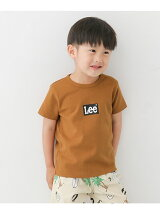 Lee×DOORS-natural- LOGO PRINT T-SHIRTS(KIDS)