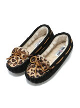MINNETONKA/(L)LEOPARD CALLY 40160 BLACK