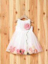 (K)花びら揺れるベビードレス
