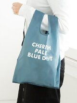 CHERISH PALE BLUE DOT/エコバッグS