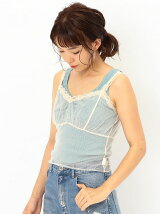 AEFC LACE DOT TULLE CAMI