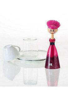 vigar/ドールズ レースディッシュブラシ&ドレス ピンク
