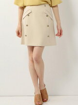 ☆JC PE/R メタルボタン 台形スカート