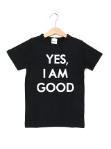 天竺YESプリント半袖Tシャツ