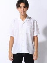 (M)ヨウリュウオープンカラーシャツ