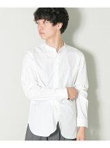 JP FABRICスヴィンバンドカラーシャツ