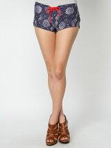 [水着]Flower Outer Shorts