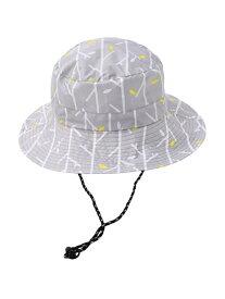 nifty colors ブランチレインUVハット ニフティカラーズ 帽子/ヘア小物 帽子その他 グレー