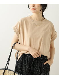 【SALE/28%OFF】frames RAY CASSIN ポケット付きTシャツ レイカズン カットソー Tシャツ ピンク ブルー ホワイト ブラック