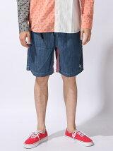 Chambray Short Pants