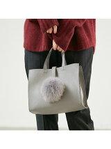 追加生産【WEB別注】ポンポンファーバッグ【予約】