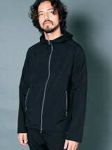 PE TYPEWRITER STRETCH STAND HOOD PARKA