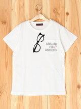 ポケメガネ990Tシャツ/ジュニア/夏/ガール/女の子
