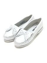 MINNETONKA/(L)KILTY UNBEADED 204 WHITE
