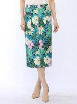 ブッチャーハイビスカスポケットタイトスカート