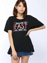 FAST プリント Big Tシャツ