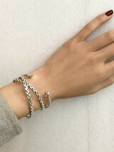 【WEB限定】◎PHILIPPE AUDIBERT STARバングル SIL / Maxton Bracelet