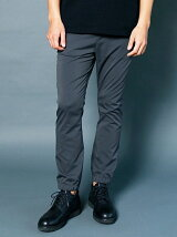 PE TYPEWRITER STRETCH SHIRRING TRACK PANTS