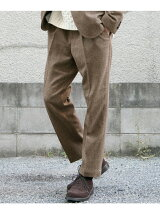 TWEED TUCK EASY TROUSER
